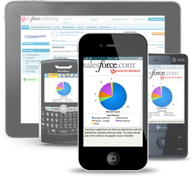 Salesforce Mobile Dashboard