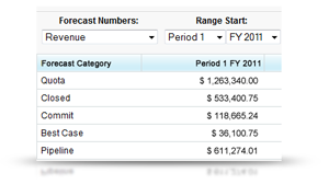 Salesforce Forecasting
