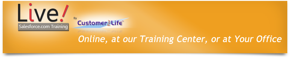 Live Salesforce Training